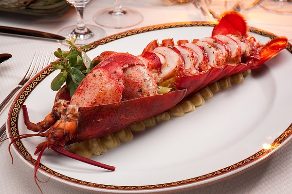 Cooked Live Lobster